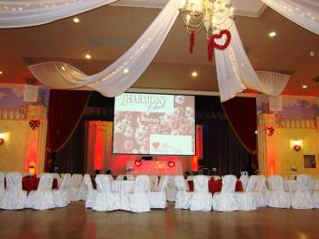 Valentines Hall Decor